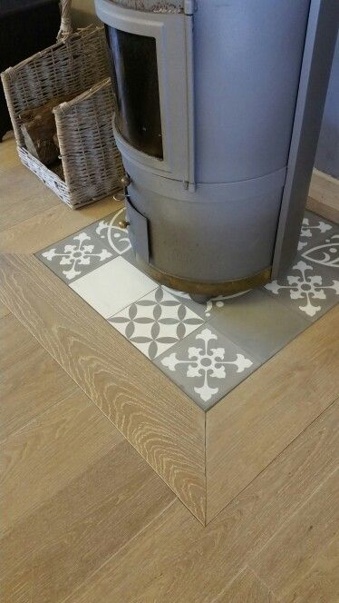 Du bois design and david on pinterest for Mettre du parquet flottant sur du carrelage