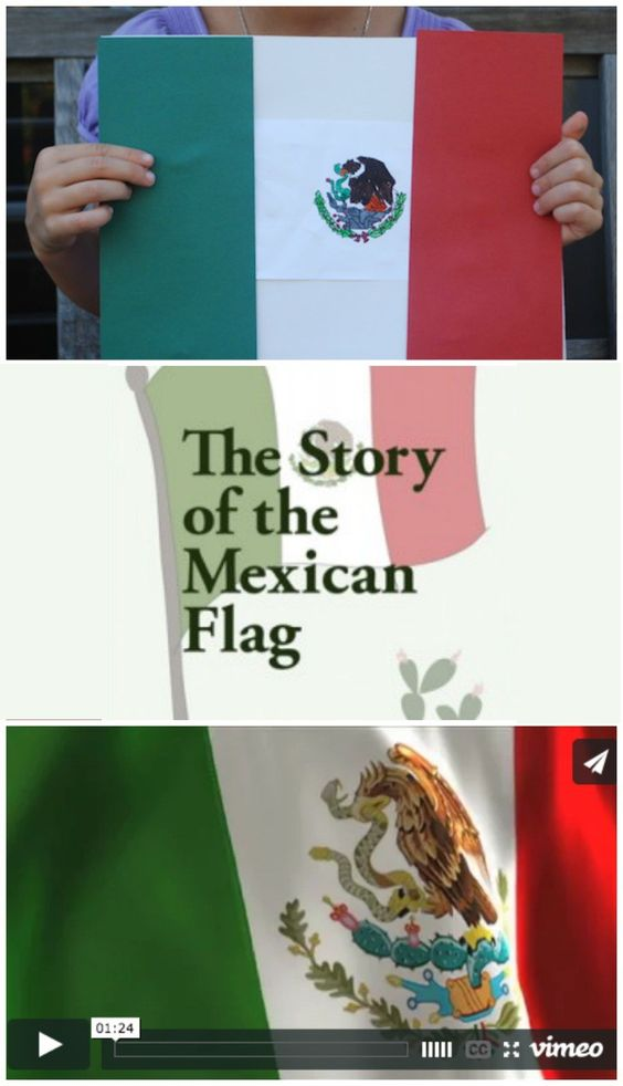 the legend of the mexican flag