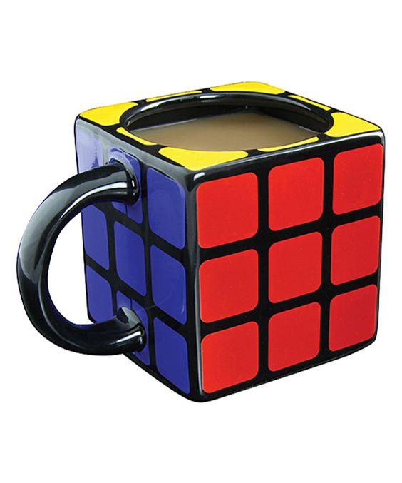 Loving this Rubiks Cube 3-D Mug on #zulily! #zulilyfinds