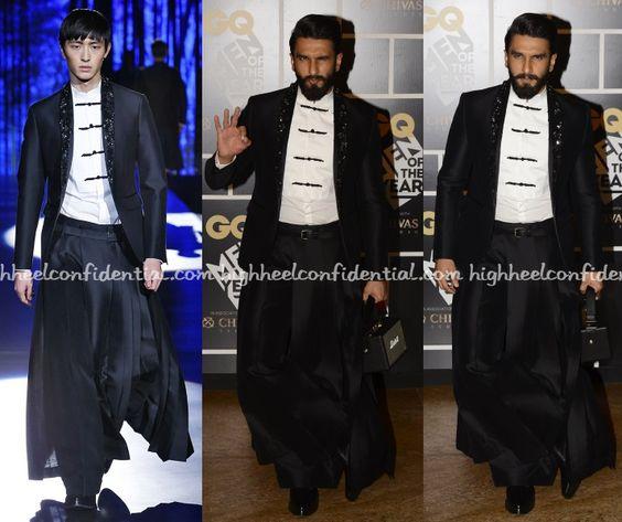 Ranveer Singh at GQ Awards