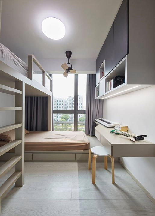 Storage Platform Idea Singapore Interior Design Condo Interior