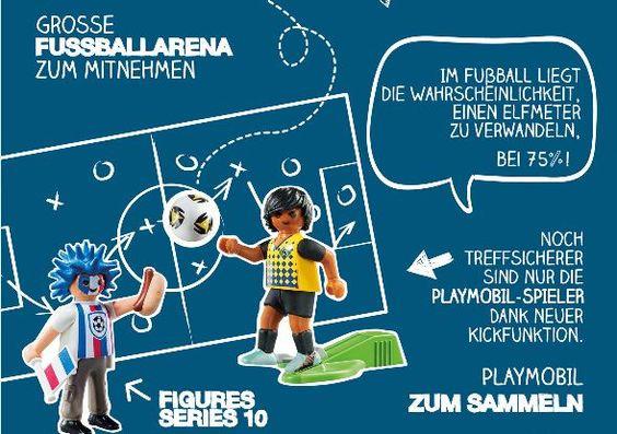 Infografik zur PLAYMOBIL Fussballarena