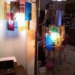 Colored Panel Floor Lamp by Eddie's 1950s Spaceage Bachelorpad