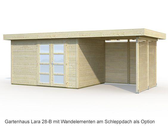 Gartenhaus Lara  8,4+5,9m²