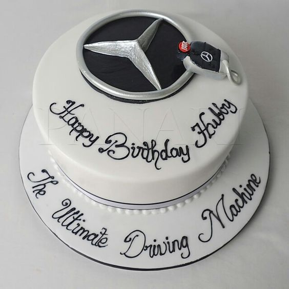 mercedes benz cake torten cakes and more pinterest ForMercedes Benz Birthday Cake