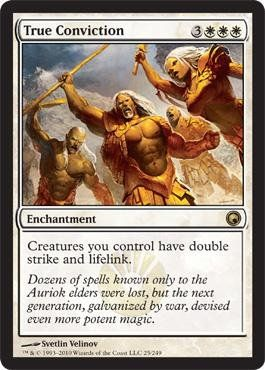 Magic: the Gathering - True Conviction - Scars of Mirrodin $0.70