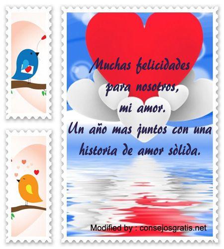 mensajes de aniversario de novios para facebook,palabras de aniversario de novios: http://www.consejosgratis.net/bellas-frases-para-mi-novio-por-nuestro-aniversario/
