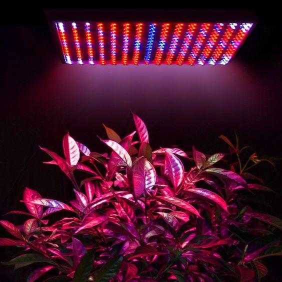 Quad-band 225 LED Grow Light Hydroponic Panel