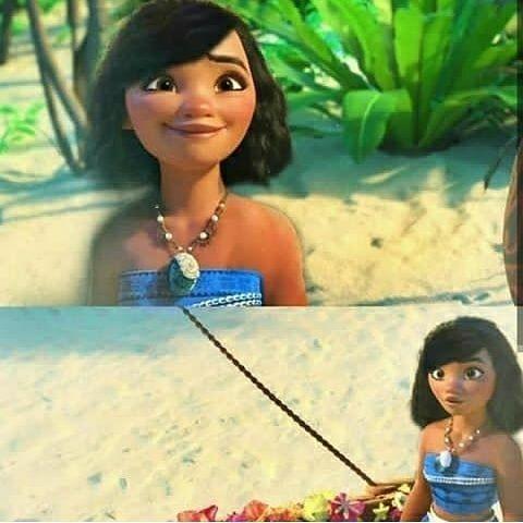 Moana With Short Hair By Disneysreign Disneyfans Disneyanimation Disneystudios Disneymovie Disney Prin Short Hair Styles Disney Animation Disney Studios
