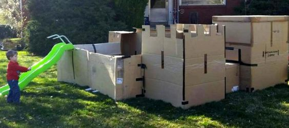 Dad In Hot Water for Building Cool Fort for Kids