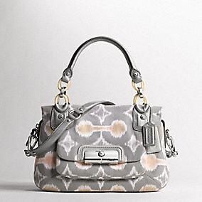 Coach Ikat, my favorite purse ever!