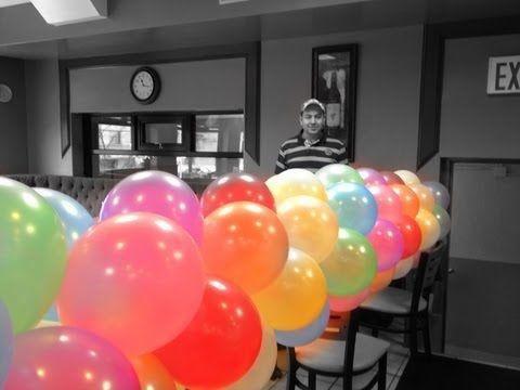 Curso de decoraciones con globos primera parte - Curso decoracion con globos ...