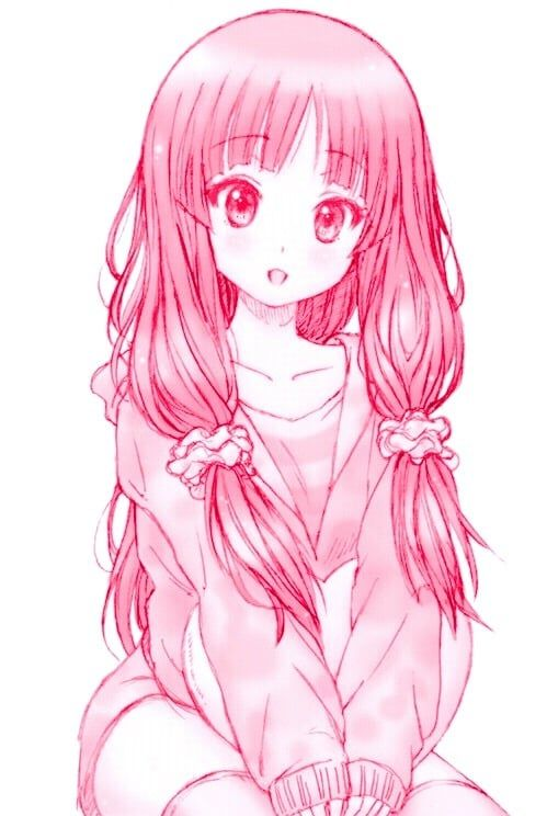 Aesthetic Anime Animegirl Art Cute Draw Illustration Kawaii