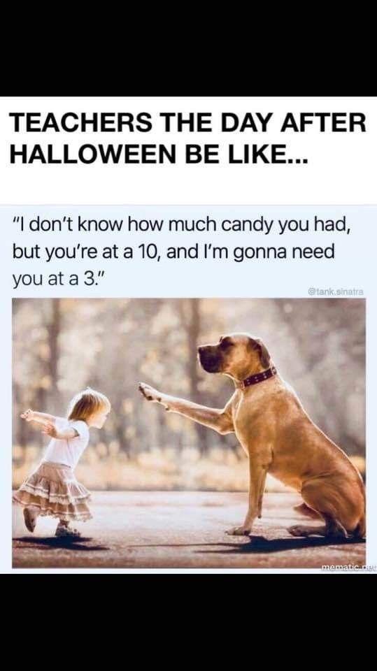After Halloween