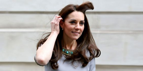 Funny article. Kate Middleton's Hair Ignores Protocol, Goes Completely Rogue  - ELLE.com