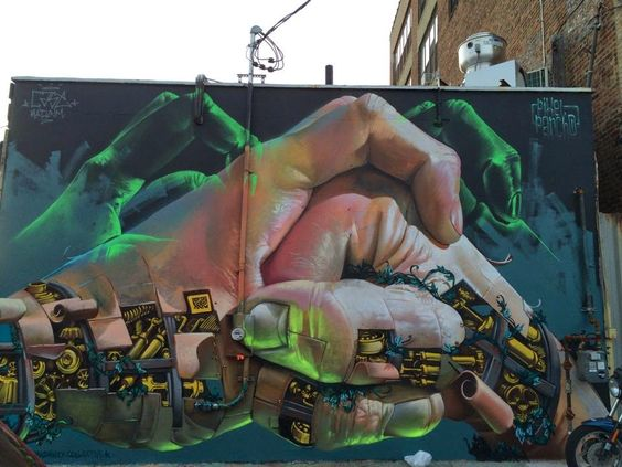 Pixel Pancho x Case Ma'Claim New Mural - New York City, USA