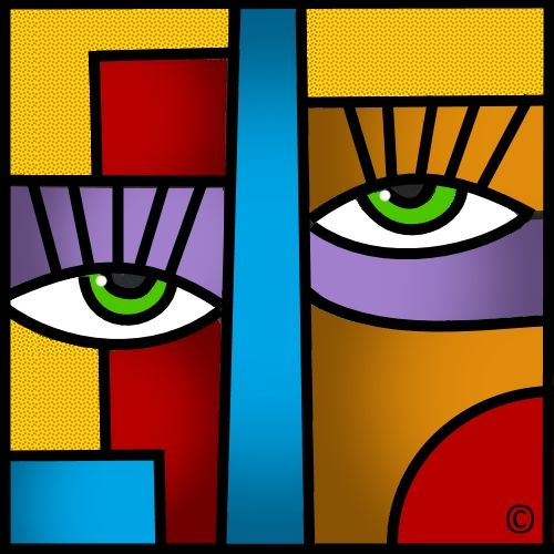 Pinterest the world s catalog of ideas - Peinture carre couleur ...