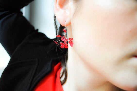 DIY : Dormeuses Ruby Red www.yesimadeit.fr