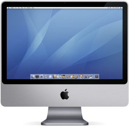 "Amazon.com: Apple iMac Desktop with 20"" Display MA876LL/A (2.0 GHz Intel Core 2 Duo, 1 GB RAM, 250 GB Hard Drive, SuperDrive): Computers & A..."