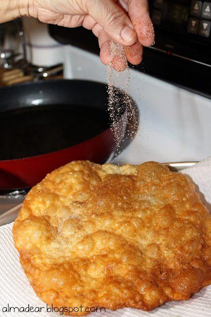 Mexican Christmas Tradition: Buñuelos.  Yummmmmm