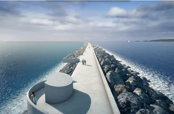 Massive Hydroelectric Lagoon Planned for Wales Details: http://goo.gl/mpabYZ  #gismaark #hydroelectricity #australia #wales