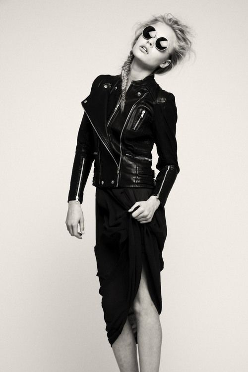 Edgy | Brooke Perry By Anthony Arquier | August 2012