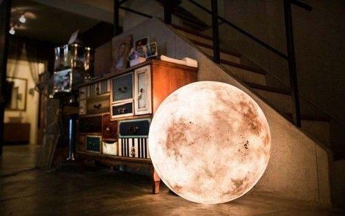 Kosmische Mond Lampe Fur Traumhafte Nachte Home Decor Interior Decor