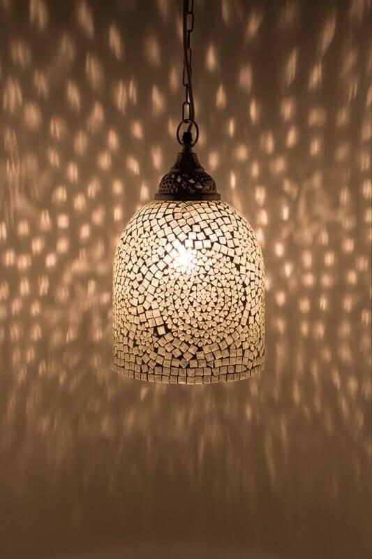 Mozaiek Lamp Wit Blanc Jaipur Mozaiek Lamp Online Bestellen In 2020 Turkse Lampen Lampen Jaipur