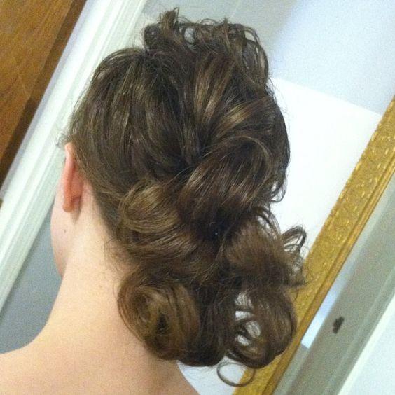 Pentecostal hairstyle Hair styles Pinterest