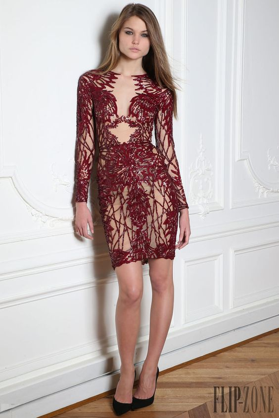 "Zuhair Murad ""Microcosmos"", O-I 2014-2015 - Prêt-à-porter - http://pt.flip-zone.com/fashion/ready-to-wear/fashion-houses-42/zuhair-murad-4638"