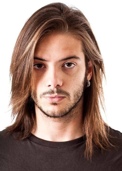 Geheimratsecken frisuren lange haare Frisuren bei