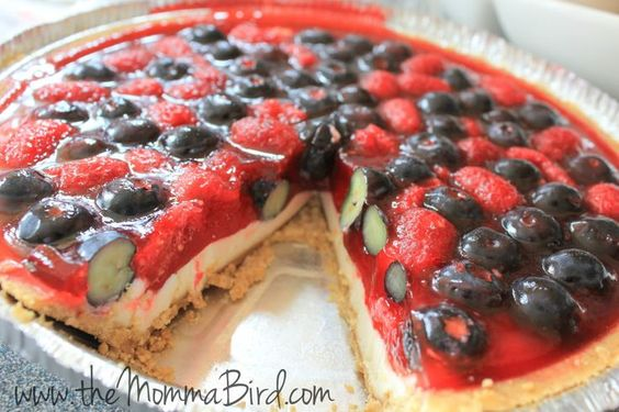 Raspberry Blueberry Pie  #eMealsBakes