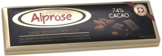 Alprose chokolade