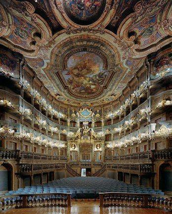 Teatro de Ópera Markgrafliche,  Alemanha