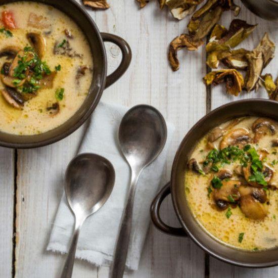 Pachnaca Swietami I Lasem Wigilijna Zupa Grzybowa Cooking Recipes Food Dinner Recipes