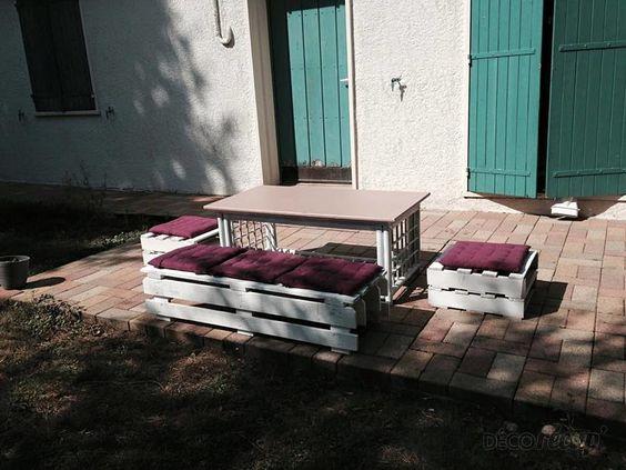 Bonsoir à tous ce soir Ln&Franck nous présente sa création : Salon de jardin https://t.co/IPlfDYe0Fw https://t.co/vMpdBUqRpY