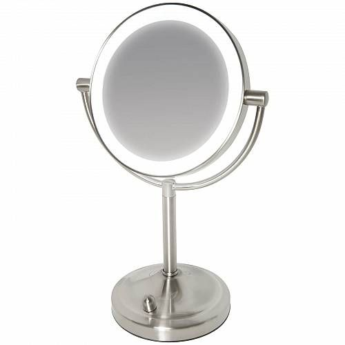Homedics Illuminated Mirror Mirror Double Sided Mirror Illuminated Mirrors