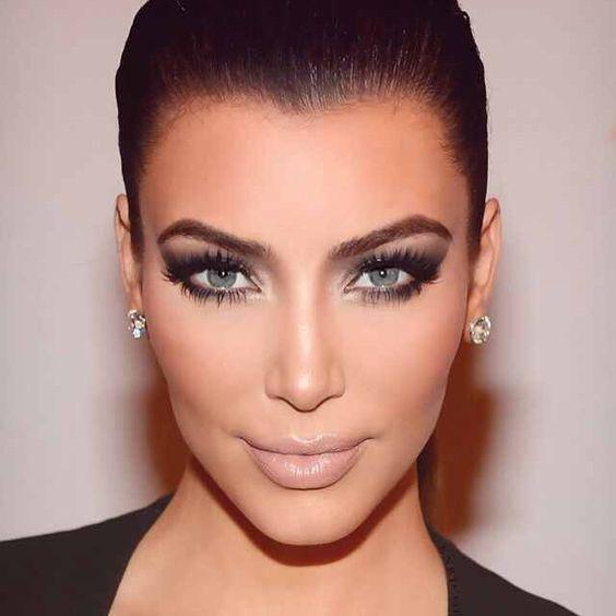 Contemporary Kim Kardashian Hairstyles   Sooper Mag