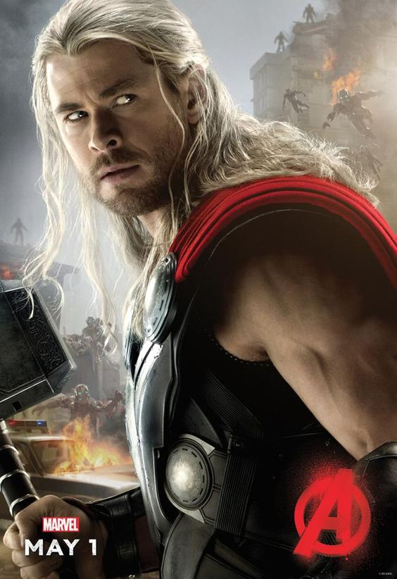 Captain America's Avengers: Age of Ultron Character Poster - IGN