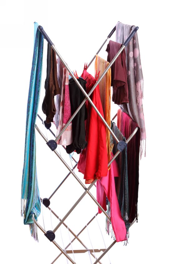 Did you know you can humidify your home by simply hanging wet clothes to dry?