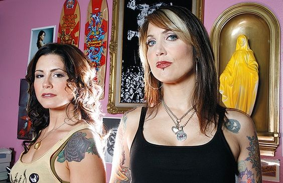 Tattoo artists, Kim Saigh and Hannah Aitchison. I would die to get either one of these guys to tattoo me