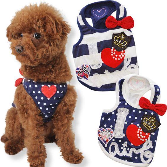 犬服ブランド【AirBalloon(エアバルーン)】 プレッピータンク 犬の服サイズ(XS〜3L,MS,MM)