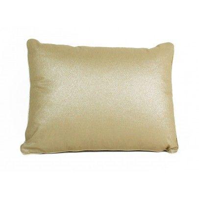 Kissen aus Baumwolle gefüllt quadratisch Gold  Nobodinoz