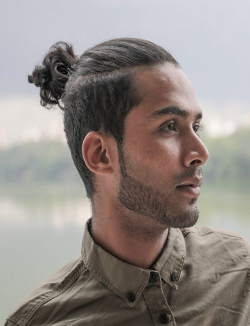 Man Bun Hairstyles For Spring 2018 Man Bun Hairstyles Mens Ponytail Hairstyles Bun Hairstyles