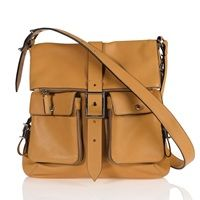 SUGARJACK Gabi Changing Bag in Tan Leather.  £288.89 + Free Delivery!