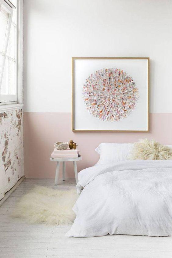 Inspirations le rose poudr chambre maison pinterest for Chambre rose poudre