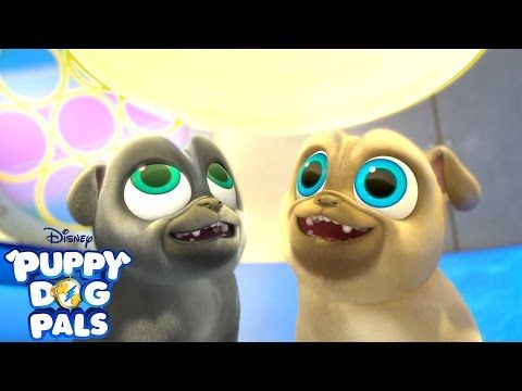 Disclosure I Received A Puppy Dog Pals Dvd To Facilitate This