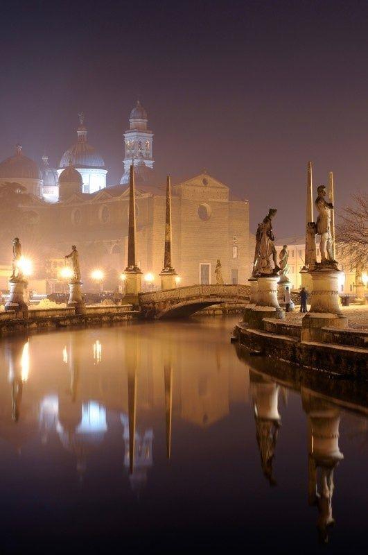 Foggy Night, Padua, Italy
