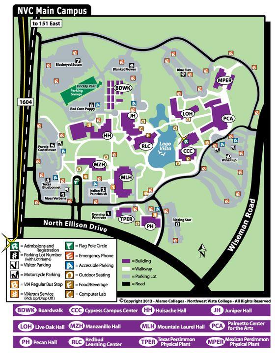 campus map | EC Campus Life | Pinterest