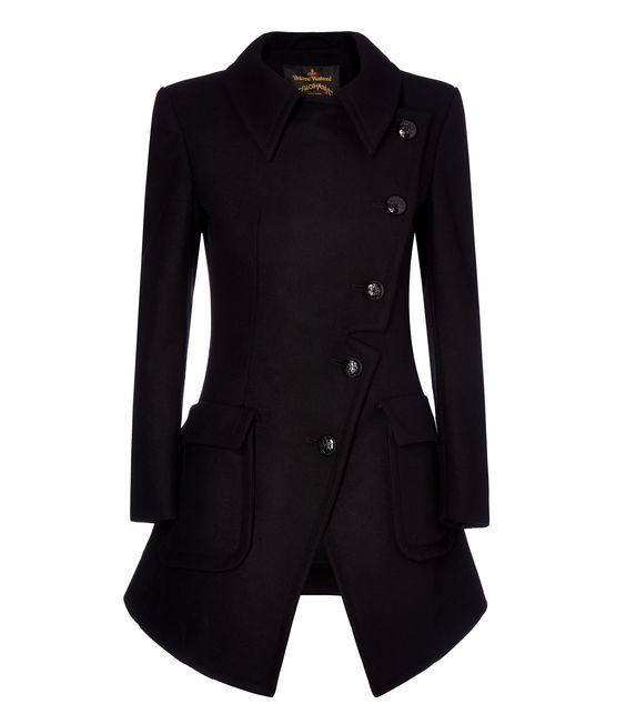 Vivienne Westwood - Black Military Coat #AW16